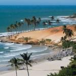 Las hermosas playas en las costas del estado de Ceará