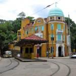 El barrio Santa Teresa de Rio de Janeiro.