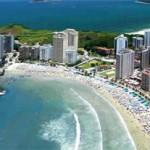La Isla de Guarujá y sus hermosas playas.
