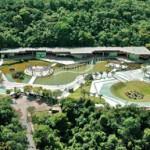 El Parque das Mangabeiras en Belo Horizonte.